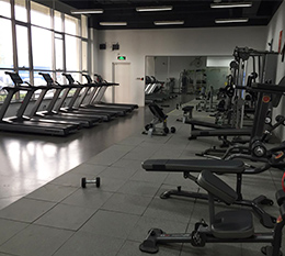 北京现代汽车健身房