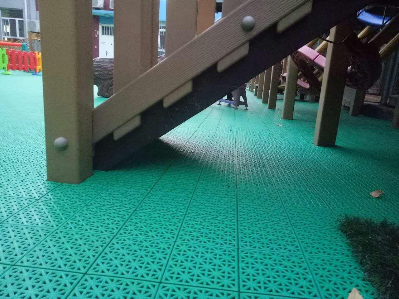 祝贺北京市虎坊路幼儿园腊竹分园室外拼装地板项目圆满完工!