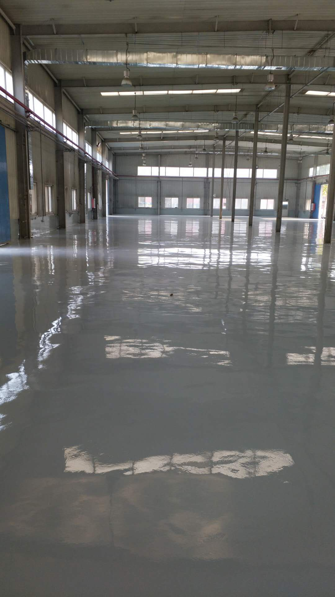 祝贺鼎泰鹏宇环保科技公司超荷载环氧砂浆地坪圆满完工!