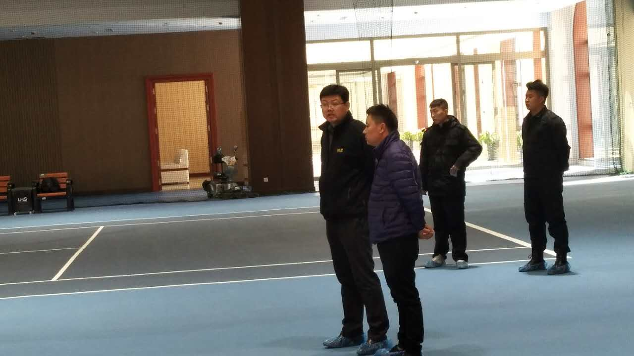 恭贺国测集团:国测北京会议会展中心网球场圆满完工!