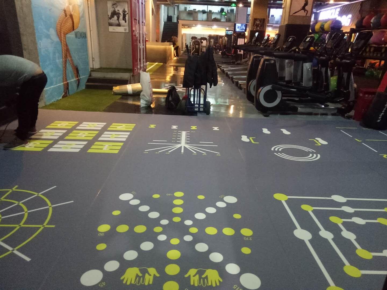 热烈祝贺北京宫霄国际360个性定制地板项目竣工!