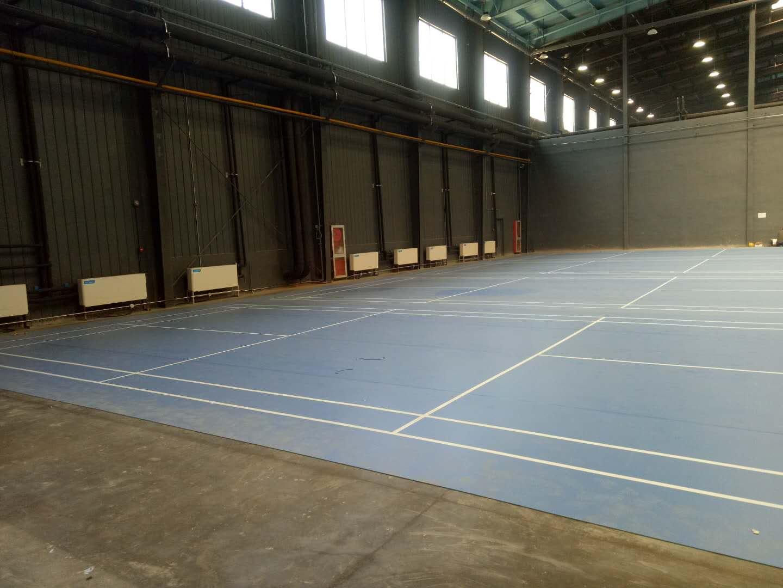 祝贺大星发体育馆羽毛球场地项目竣工!