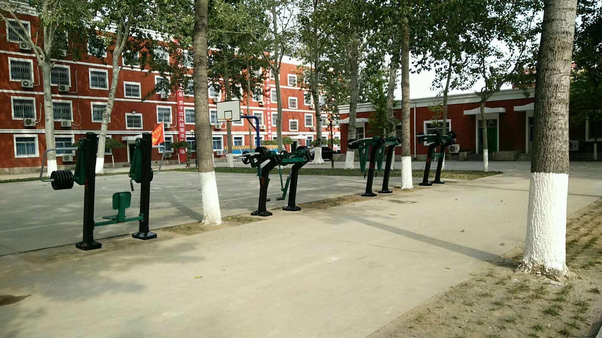 武警某支队——部队训练器材八件套