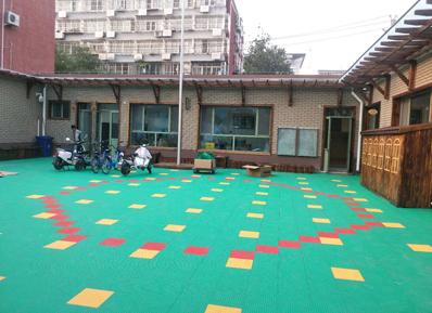 北京中润致远幼儿园专用地板,槐柏幼儿园表示 很不错!