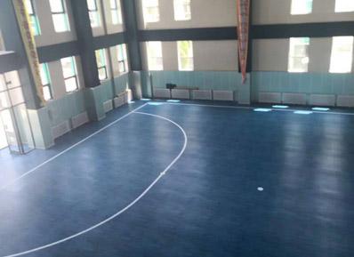 高品质的五人制足球运动地板,让中润致远获得鄂尔多斯小学的青睐!