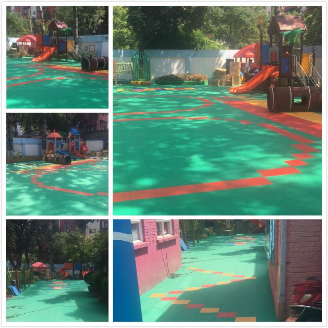 悬浮拼装地板拼花设计,轻松打造出丰富多彩的幼儿空间