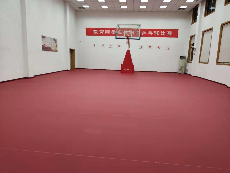 运动木地板与PVC地板搭配,挥洒更自如!
