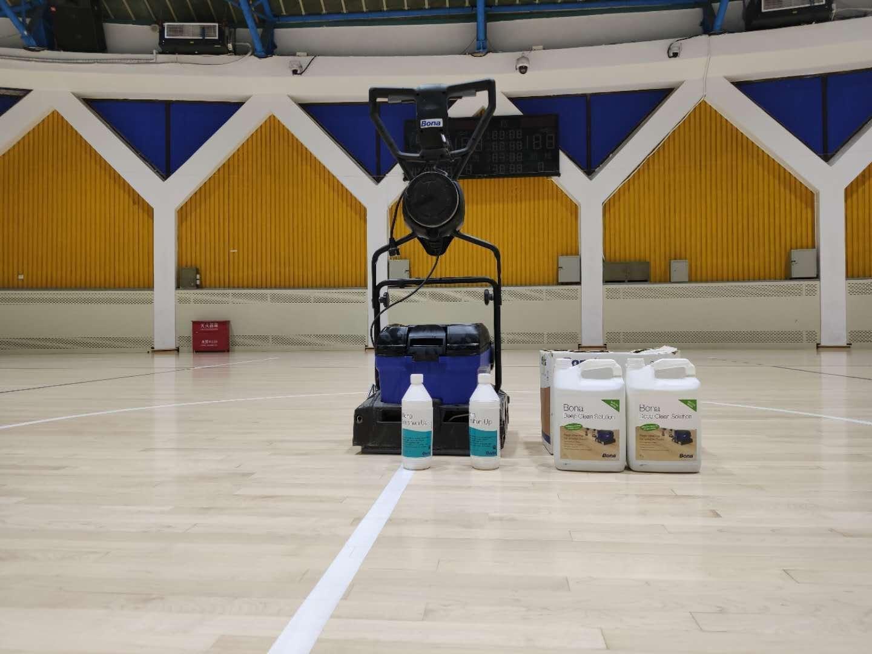 体育场馆运动木地板翻新