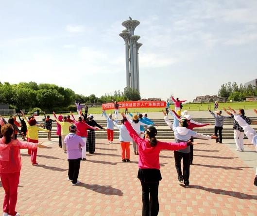 中润致远体育庆祝建党百年万人广场舞领队培训活动顺利召开