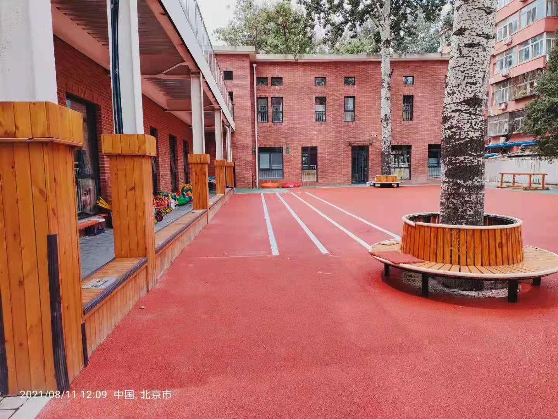 幼儿园室外地板如何选择,看看太极艾嘉幼儿园怎么说?