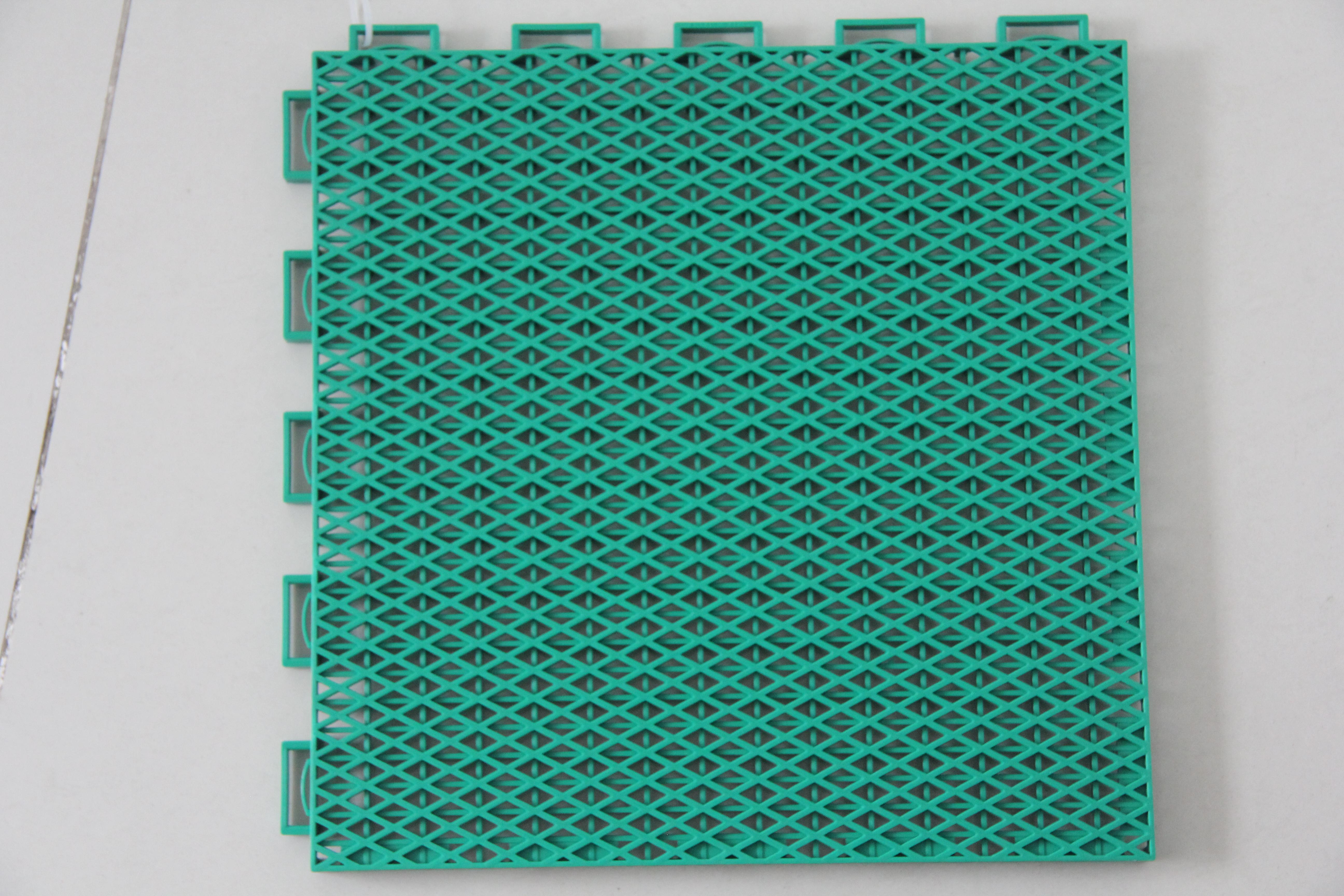 悬浮式拼装运动地板——双层米字二代