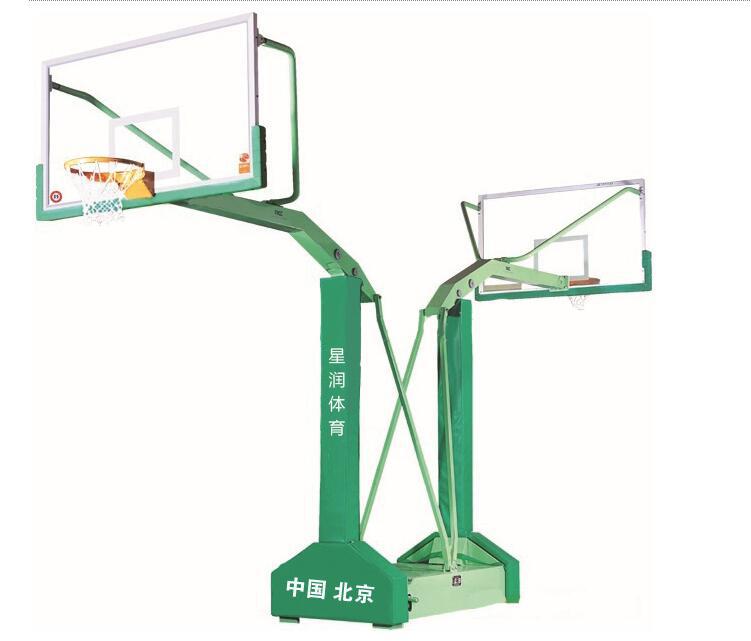 移动双向篮球架