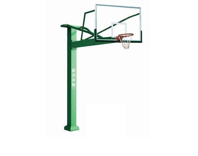 预埋式方管篮球架