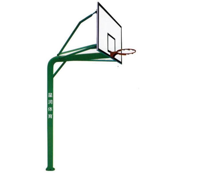 预埋式圆管篮球架