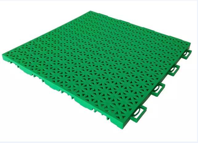 珍珠米字悬浮式拼装地板