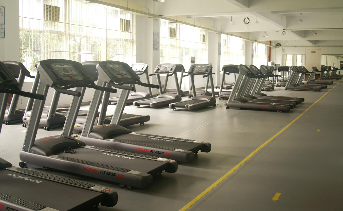 健身房专用地板-LOGO纹