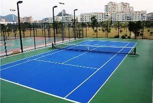 网球场地胶工程解决方案