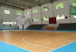 篮球场地胶工程解决方案