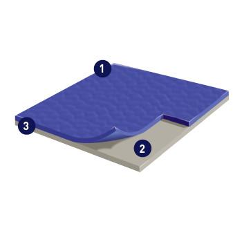 Taraflex运动表面2.1运动地板