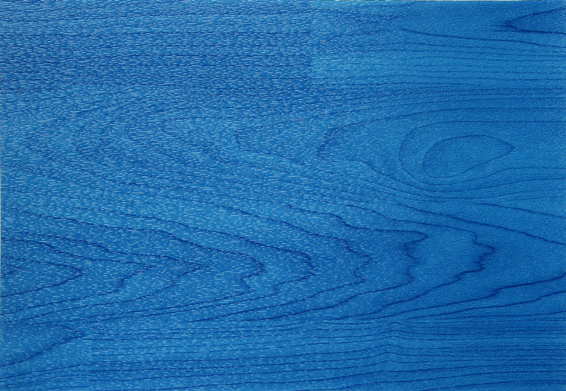 五人制足球7.0mm蓝色枫木纹运动地板