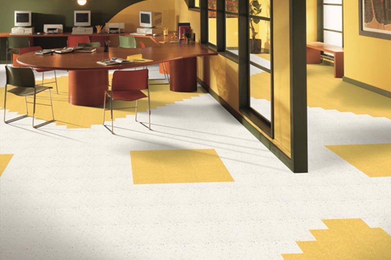 典雅龙复合卷材地板
