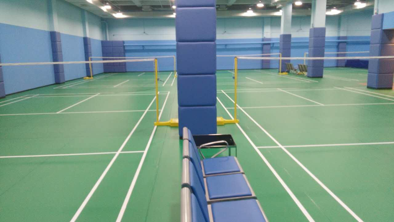 竞技型羽毛球PVC运动地板