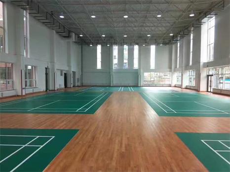 羽毛球场馆专用运动木地板