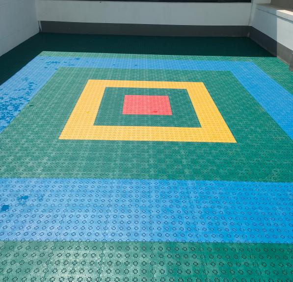 SES幼儿园专用悬浮式拼装地板