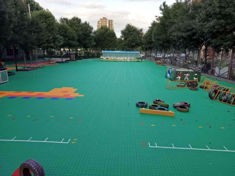 太阳花幼儿园专用悬浮式拼装地板